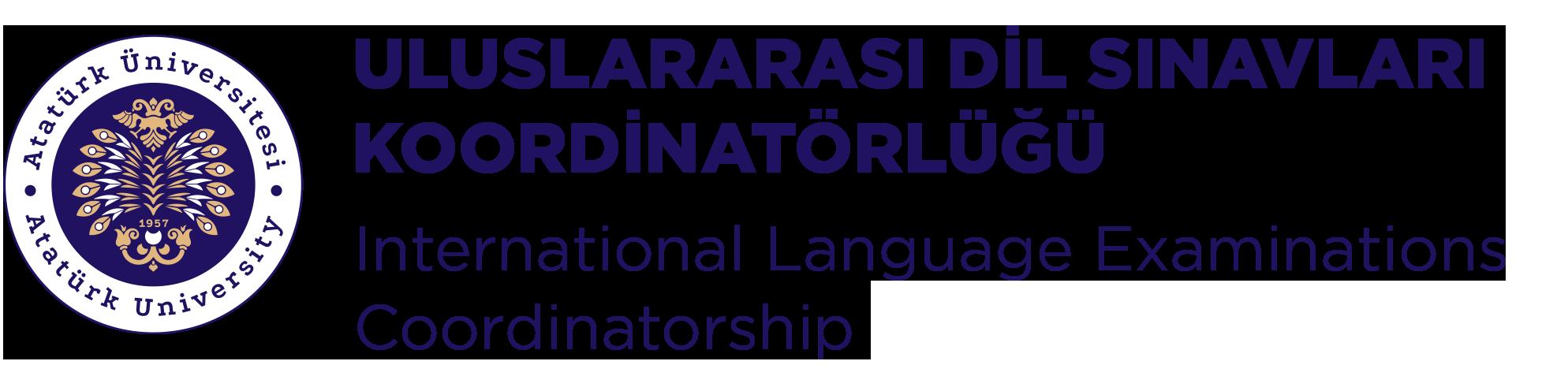 ATAILE - Uluslararası Dil Sınavları Koordinatörlüğü